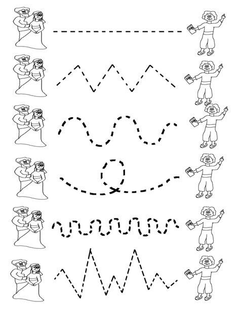 preschool tracing worksheets best coloring pages for 269 | Preschool Tracing Worksheets Matching 791x1024