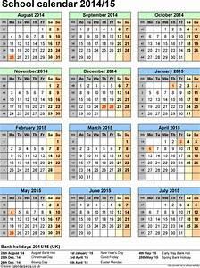 Mini Kalender 2015 : school calendars 2014 2015 as free printable word templates ~ Watch28wear.com Haus und Dekorationen