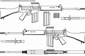The L1 A1 Infantry Rifle Blueprints