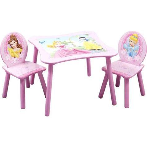 disney princess table and chairs disney princess square table and chair set walmart com