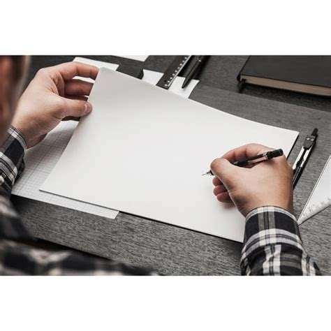 Free Customizable Blank Page Mockup in PSD - DesignHooks