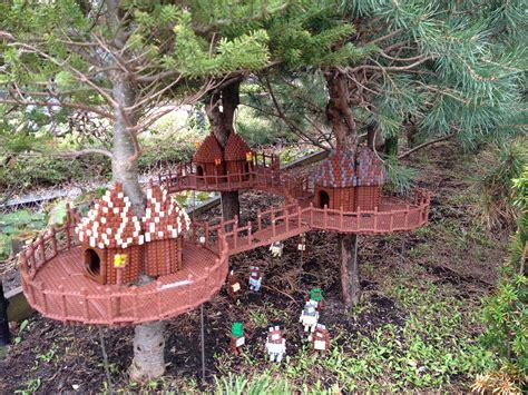 lego ewok village rotj at legoland billund lego lego