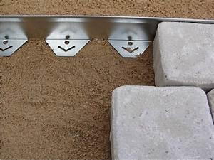 Bache Separation Jardin : bordure querre en acier galvanis bordure de jardin ~ Premium-room.com Idées de Décoration