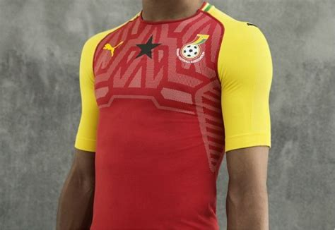 ghana   puma home kit  football fashionorg