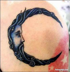 Man in the moon | Tattoos I'd get | Pinterest