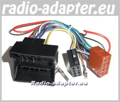 Jetta Onwards Car Radio Wire Harness Wiring Iso