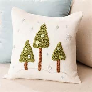 weihnachtsdeko 2015 holz winter pillow diy