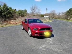 5th gen Ruby Red Metallic 2014 Ford Mustang V6 manual For Sale - MustangCarPlace