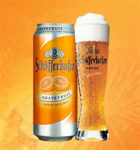 German Grapefruit Beer Schofferhofer