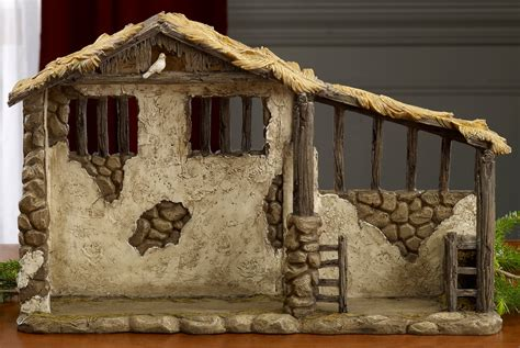 christmas mangers for sale collectibles nativity sets gifts 12 75 quot lighted