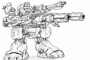 RIFTS NG V50 BIGFOOT Robot by ChuckWalton on DeviantArt