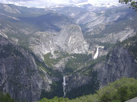 View Half Dome Nevada Fall Vernal From