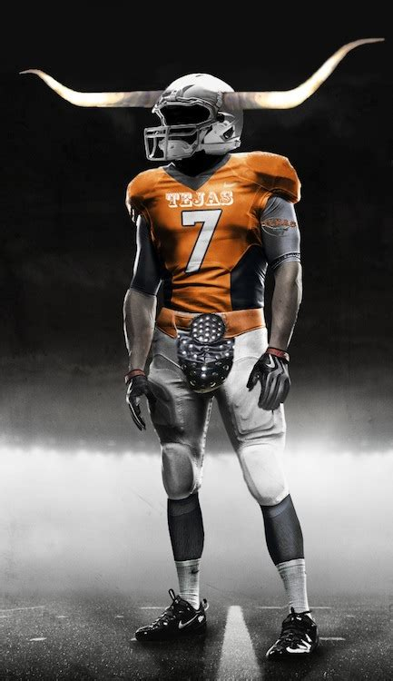 texas longhorn uniform concept designs