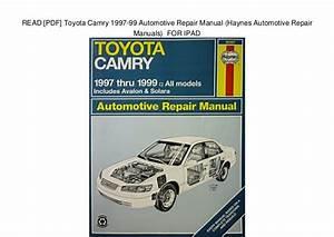 Car Repair Manual Download 2007 Toyota Solara Instrument