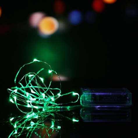 battery operated party lights 2m 3m 10m battery powered led starry fairy string lights