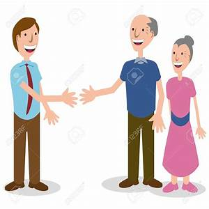 Greeting People Clipart - ClipartXtras