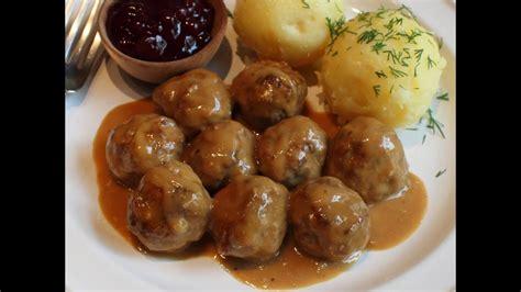 swedish meatballs recipe beef pork meatballs