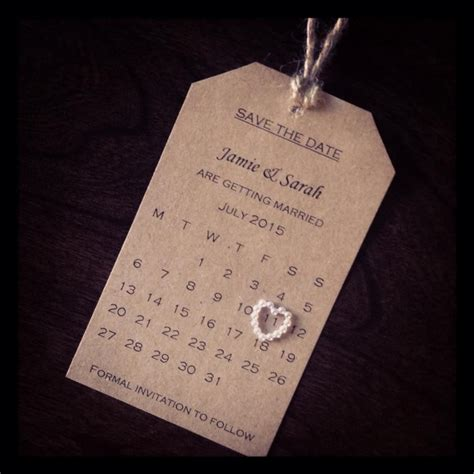Save The Date #wedding #homemade #simplicity Making