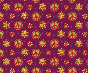 Nice Hippie Pattern Background Vector Art & Graphics ...