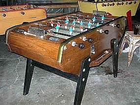 vintage french petoit concord foosball table model