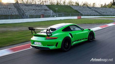 Porsche 911 Gt3 Rs Green 2018