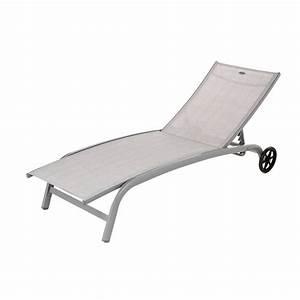 Bain De Soleil Gris : bain de soleil bain de soleil alu et toile textil ne th ~ Dode.kayakingforconservation.com Idées de Décoration