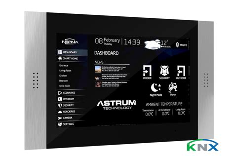 10 quot touch panel knx visualisierung smart home software