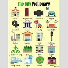 English Vocabulary Places In The City  Eslbuzz Learning English