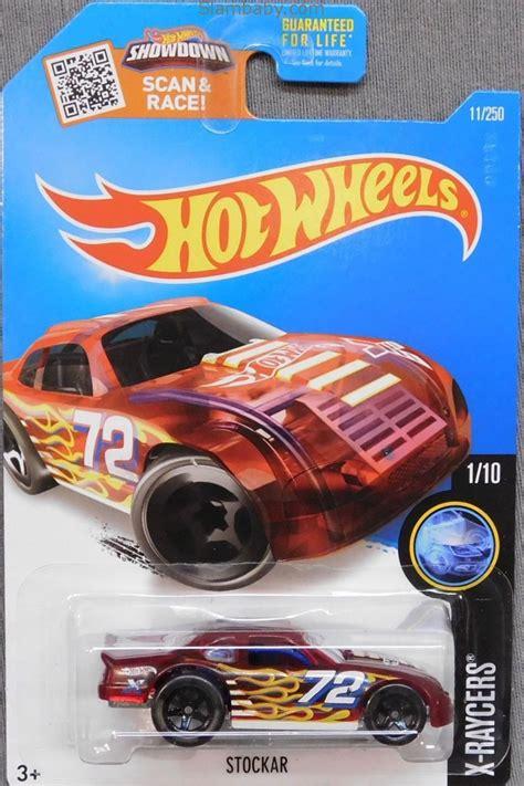 hot wheels stockar red