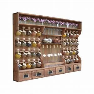 Etagere A Epice : spice rack 40 bubbles color wood ~ Teatrodelosmanantiales.com Idées de Décoration