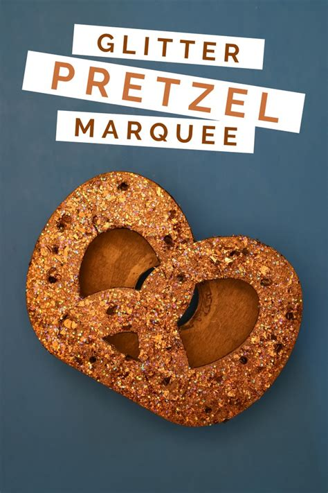 oktoberfest crafts glitter pretzel decor entertaining mad