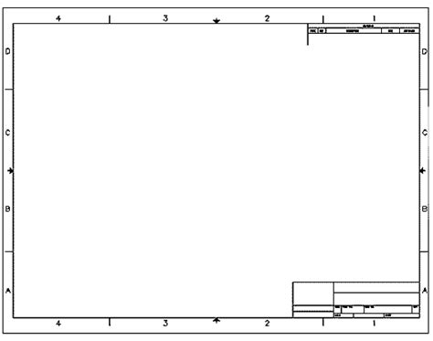 solidworks drawing template creating a title block in autocad 2016 tutorial and