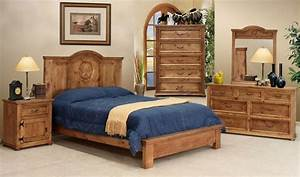Breathtaking Rustic Bedroom Furniture Sets With Warm