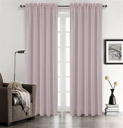 Drapery Panels Sheer Linen Curtain Chloe Faux