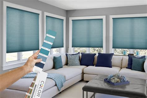 Colored Window Blinds Shades by Comfortex Window Coverings Blinds And Shades