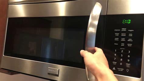 turn  beeping sound   frigidaire microwave model fgmvqfa youtube
