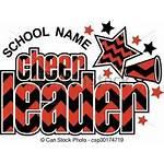 Cheerleader Clipart Megaphone Clip Chevron Sparren Disegno