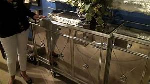 Borghese Mirrored Buffet / Server by Bassett Mirror