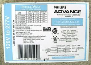 Advance Fluorescent Ballasts Labels 101