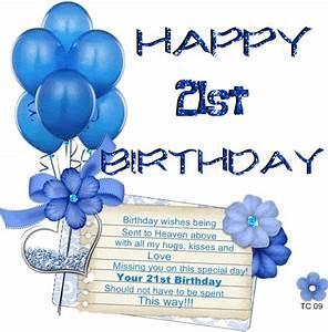 Happy 21st Birthday - DesiComments.com
