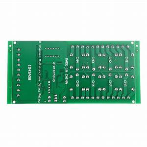 Dc 12v 8 Channel Multifunction Timer Delay Relay Board