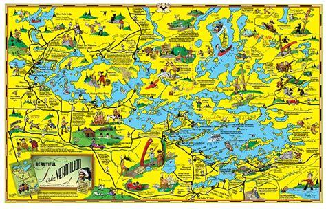 c 3 large lake vermilion map fisher maps