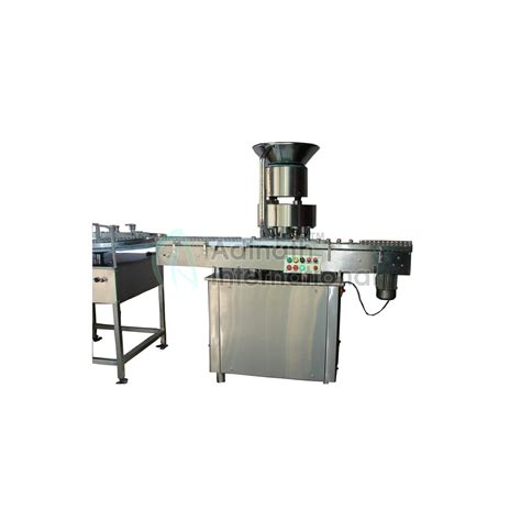 automatic  head vial cap sealing machine manufacturer india