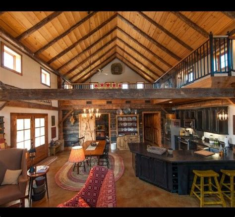 open concept cabin floor plans log cabin inspired open concept house ideas in 2019 pole barn living quarters pole barn