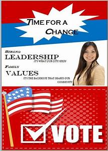 election flyer template microsoft word free political With voting flyer templates free