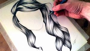 Sketches Of Girls With Curly Long Hair | www.pixshark.com ...