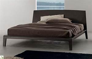 Letto moderno in legno Eolo Arredo Design Online
