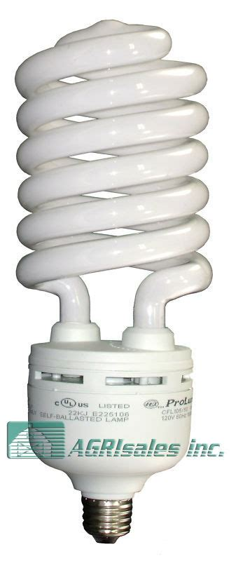 satco brand    watt spiral fluorescent light