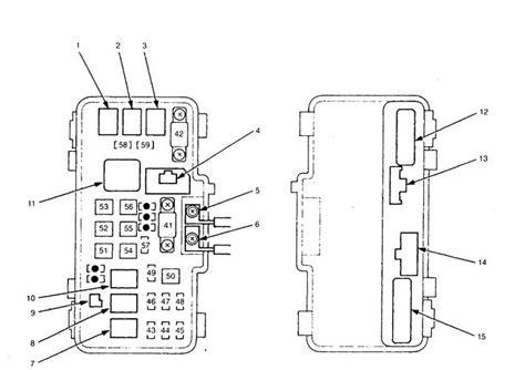 Acura Fuse Box Diagram Auto Genius