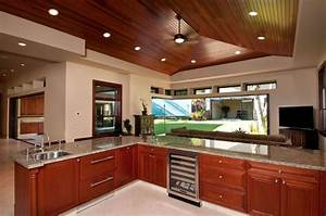 25 cherry wood kitchens cabinet designs ideas With what kind of paint to use on kitchen cabinets for thick stickers